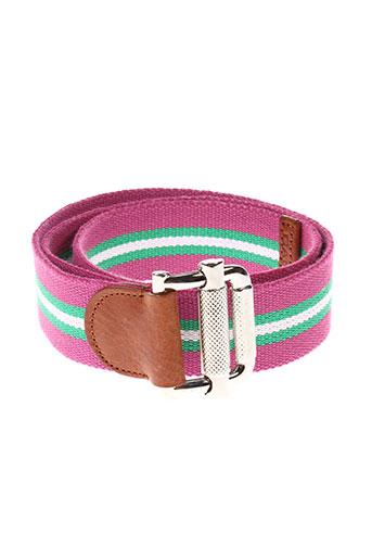 gant accessoires homme de couleur rose