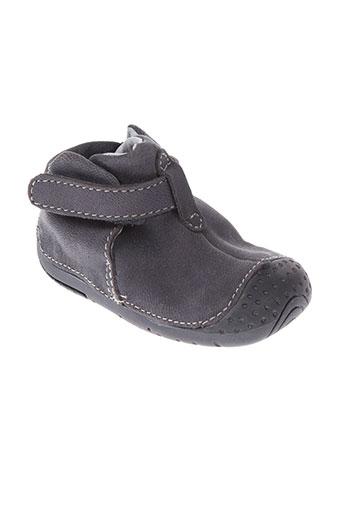 babybotte boots garcon de couleur gris
