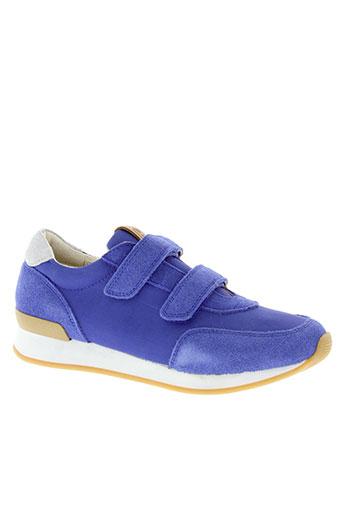 10 et is baskets garcon de couleur bleu