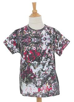 Produit-T-shirts / Tops-Fille-ELEVEN PARIS