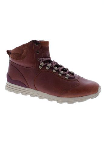 clae boots homme de couleur marron