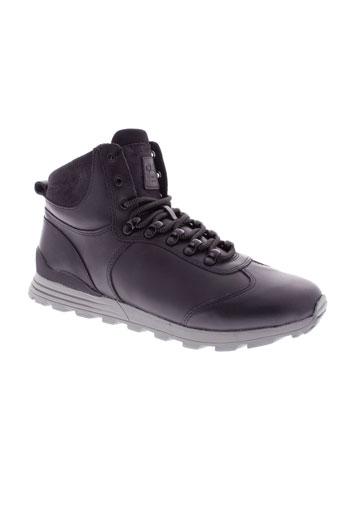 clae boots homme de couleur noir