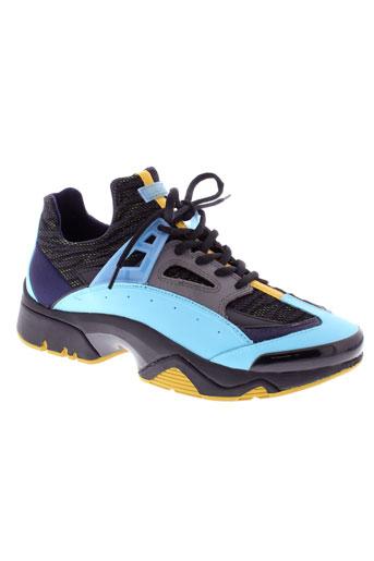kenzo baskets homme de couleur bleu