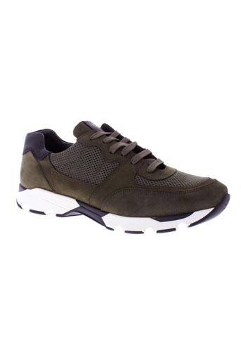 national standard chaussures homme de couleur vert