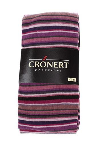 cronert lingerie femme de couleur violet