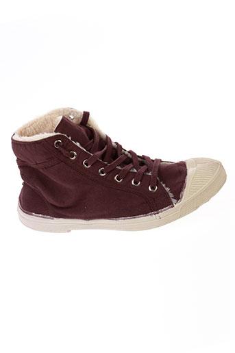 bensimon chaussures femme de couleur violet