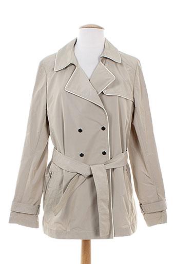 gerard darel manteaux femme de couleur beige