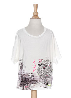 Produit-T-shirts / Tops-Fille-DKNY