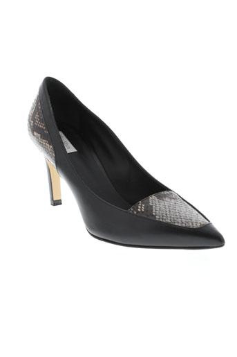 maxmara escarpins femme de couleur noir