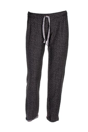 deha pantalons et decontractes femme de couleur gris