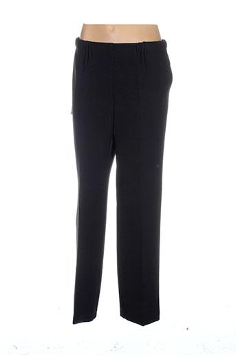 kiplay pantalons femme de couleur noir