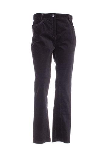 perspectives pantalons femme de couleur noir