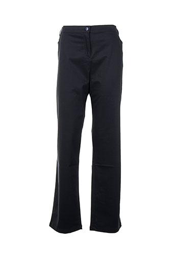kiplay pantalons femme de couleur bleu