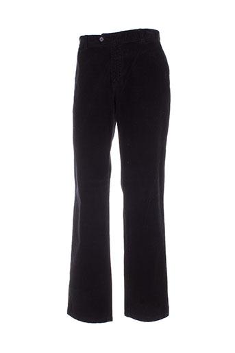 peter cofox pantalons homme de couleur noir