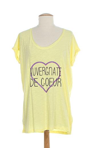 yaka'y t-shirts / tops femme de couleur jaune