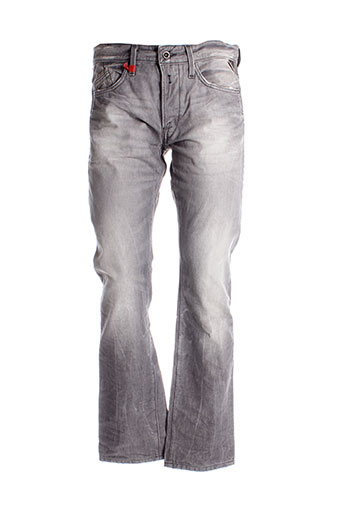 replay pantalons et decontractes homme de couleur gris