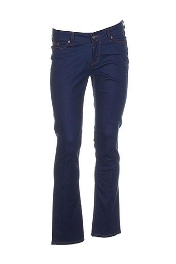mustang jeans femme de couleur bleu