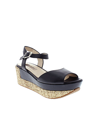 gadea sandales et nu et pieds femme de couleur noir