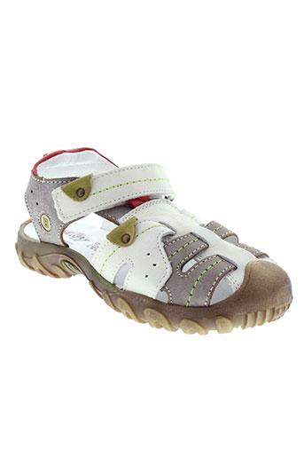 bellamy sandales et nu et pieds garcon de couleur blanc