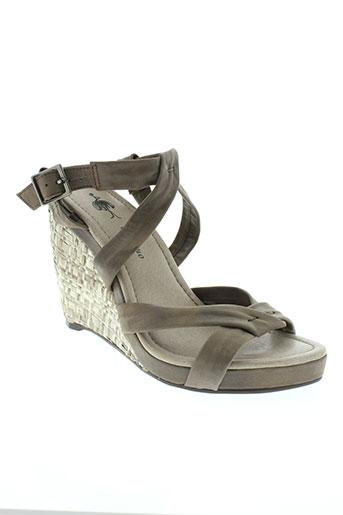 one step chaussures femme de couleur beige