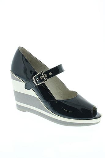 ippon styl chaussures femme de couleur bleu