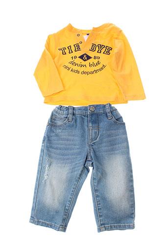 girandola ensemble garçon de couleur jaune