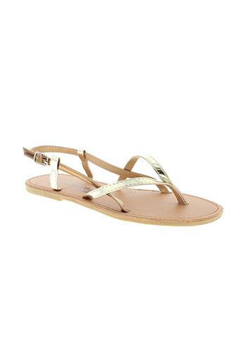 cassis cote d'azur chaussures fille de couleur beige