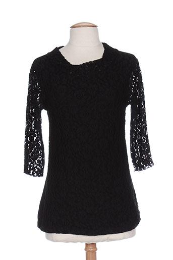 emmebivi t-shirts femme de couleur noir