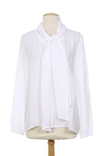 school rag chemises femme de couleur blanc