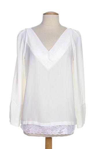 jane wood chemises femme de couleur blanc