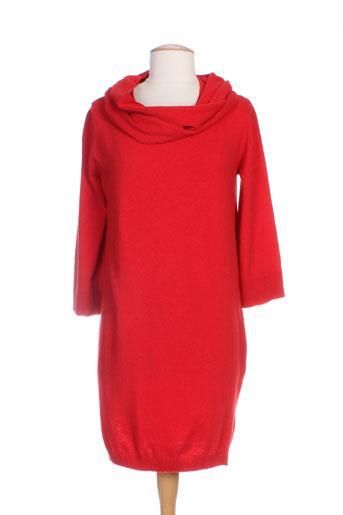marella robes et pulls femme de couleur rouge