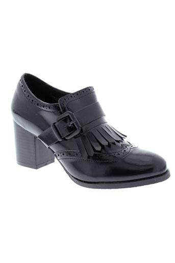 moow chaussures femme de couleur noir
