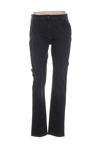 lucchini jeans femme de couleur noir