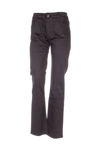 ky creation pantalons femme de couleur noir