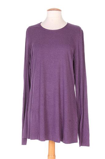 alembika t-shirts femme de couleur violet