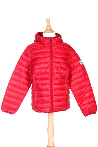 back et to et alaska doudounes garcon de couleur rouge