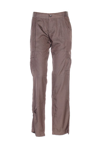 mexx pantalons femme de couleur vert