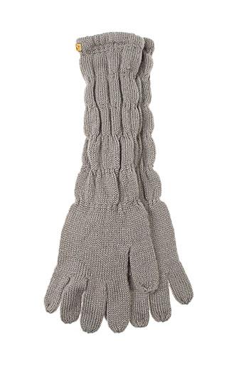 ddp echarpes et gants femme de couleur gris