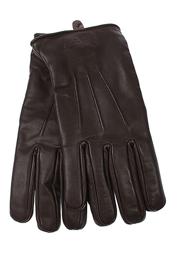 chevignon echarpes et gants unisexe de couleur marron