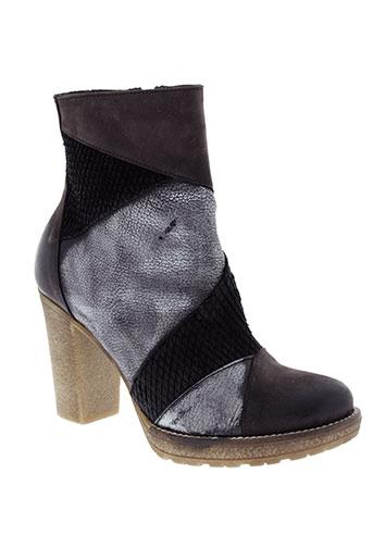 donna et piu boots femme de couleur marron