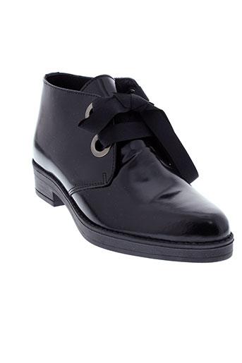avanakan boots femme de couleur noir
