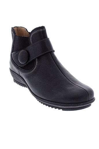 moova boots femme de couleur noir