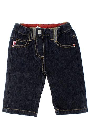 girandola jeans fille de couleur bleu