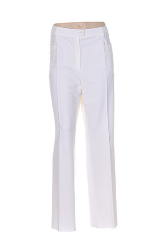 karting pantalons femme de couleur blanc
