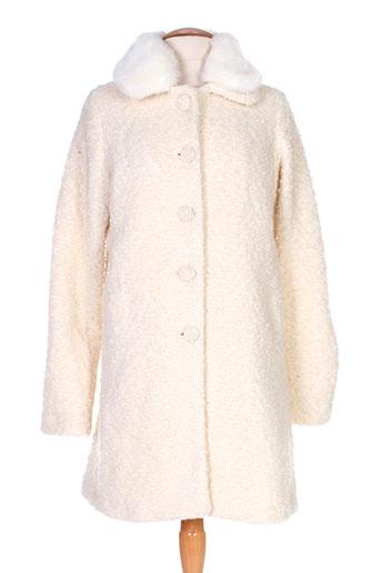 la fee maraboutee manteaux femme de couleur blanc