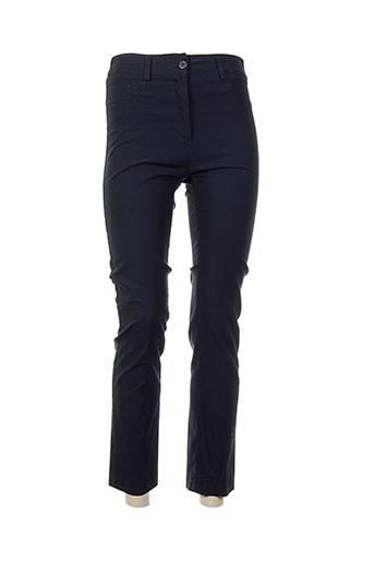 la fee maraboutee pantalons femme de couleur bleu