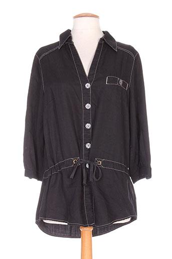 jocavi vestes femme de couleur noir