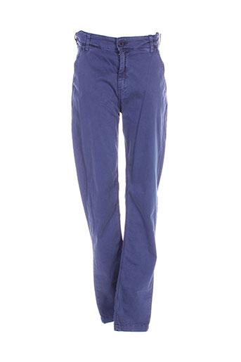 japan rags pantalons garçon de couleur bleu