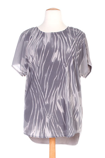 ciso chemises femme de couleur gris