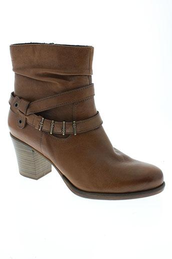 tamaris boots femme de couleur marron